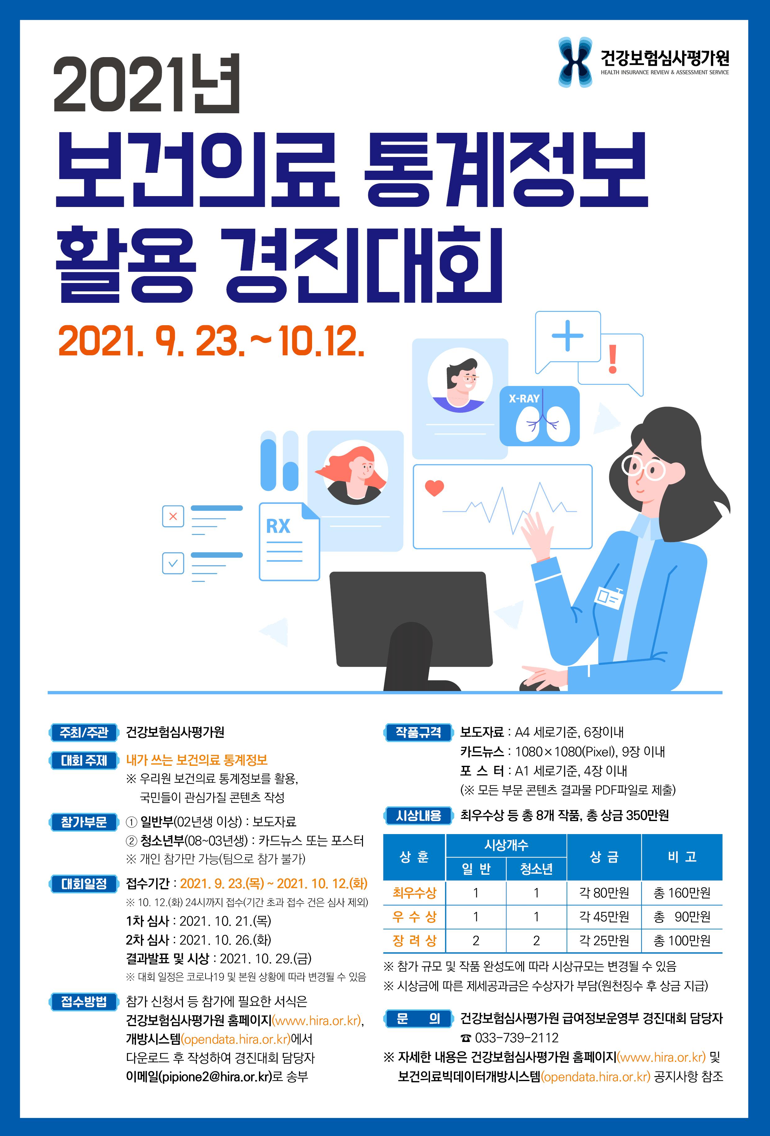 붙임2. 2021년 보건의료 통계정보 활용 경진대회 포스터.png